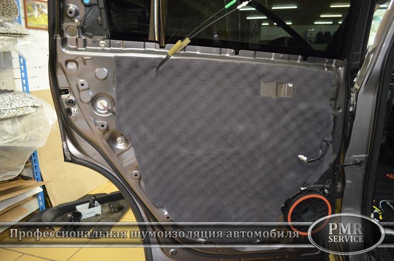 Шумоизоляция Toyota Highlander, изображение №14