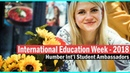 International education week - 2018 | Humber International Student Ambassadors