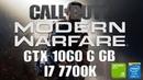 Call of Duty Modern Warfare Beta | GTX 1060 (6 GB) OC i7 7700k | 1440p HIGH Settings |