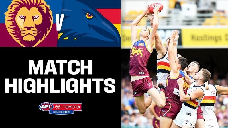 Must-watch Gabba thriller | Brisbane v Adelaide Highlights | Round 9, 2019 | AFL