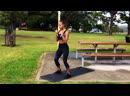 Тренировка в парке