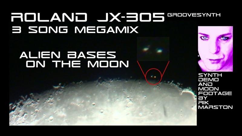 Roland JX 305 Megamix Alien Bases on the Moon Synthesizer Dance Music Rik Marston