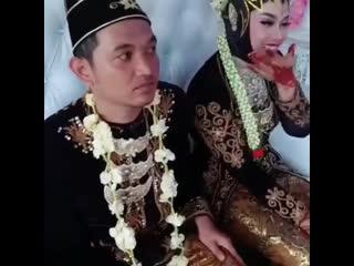 Bila berjodoh ke pesta pernikahan jadi lucu