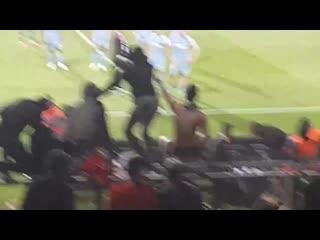 Фанаты монегасков после поражения «монако» от «нима»