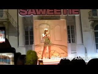 Saweetie , lil kim , ashanti x quavo live for pretty little thing nyfw show 2019