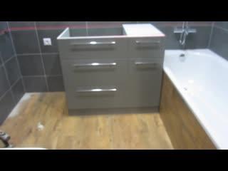 Часть-17 Какой должна быть мебель для ванной.Тумба раковина VoLLe столешница из