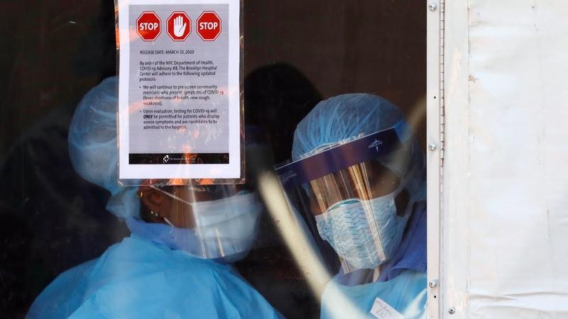 "Американские врачи на передовой пандемии"" COVID 19 АМЕРИКА 27 03 20"