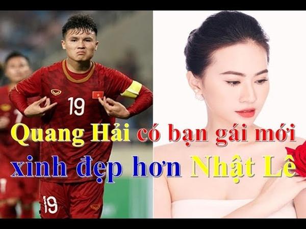 Cầu thủ Quang Hải có bạn gái mới xinh đẹp hơn Nhật Lê ❤ Việt Nam Channel ❤