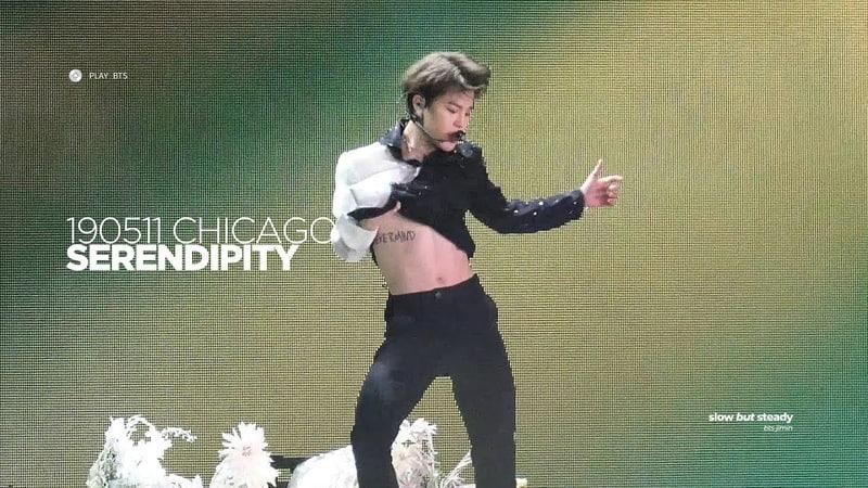 190511 방탄소년단 지민 (BTS JIMIN) - Serendipity (JIMIN FOCUS 4K fancam)