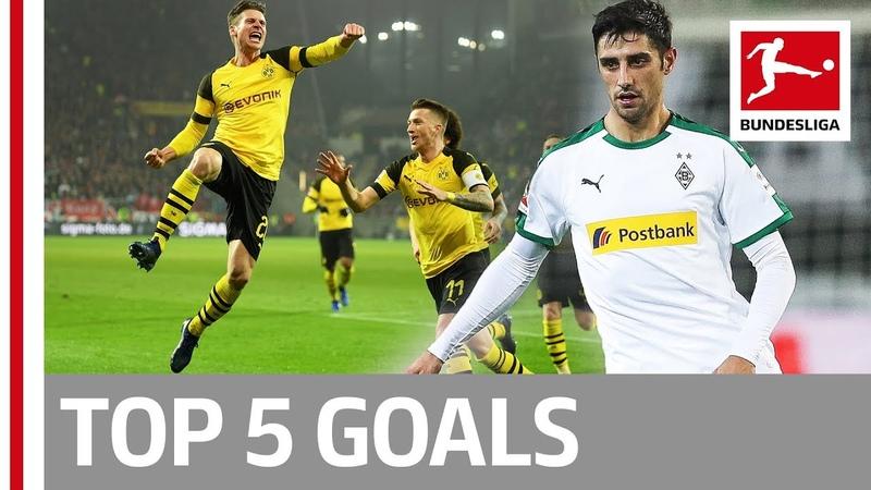 Top 5 Goals on Matchday 12 Hazard Kramaric Piszczek More