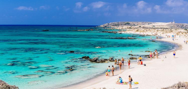 Самые красивые пляжи Греции