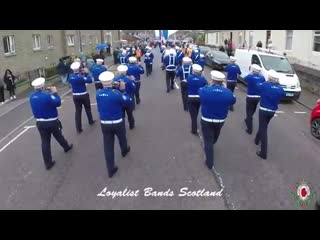 Larkhall Purple Heroes FB Annual Band Parade