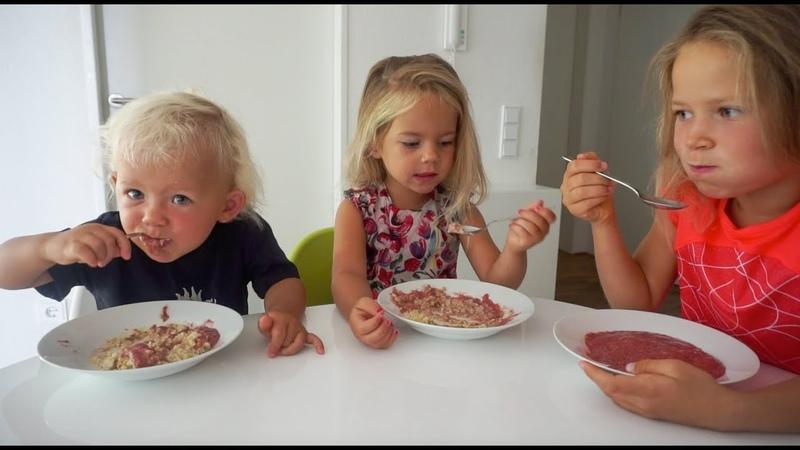 Что мои дети веганы съели за день