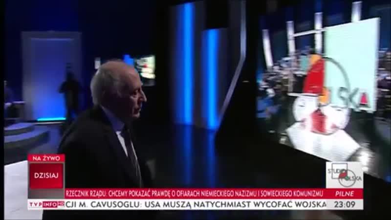 Polak o Żydach Żydowskie kłamstwa o Auschwitz i Holocauście w Studio Polska TVP