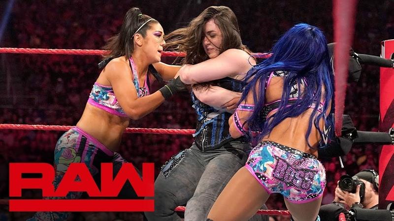 Alexa Bliss Nikki Cross vs. Sasha Banks Bayley: Raw, Sept. 16, 2019