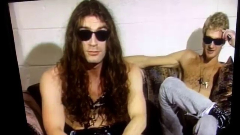 Layne Staley Alice in Chains The Naked Truth ID's 1991