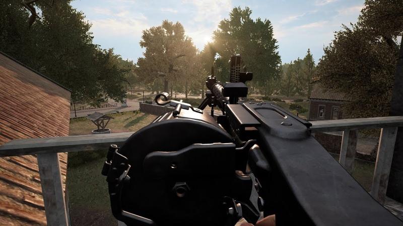 Post Scriptum MG34 Heelsum Highground GER Comms ENG Subs