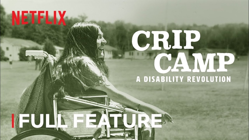 CRIP CAMP A DISABILITY REVOLUTION Full Feature Netflix