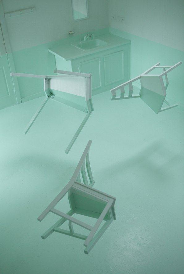Иллюзия затопленной комнаты от Kyung Woo Han