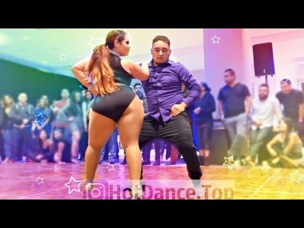 Потрясный танец Бачата
