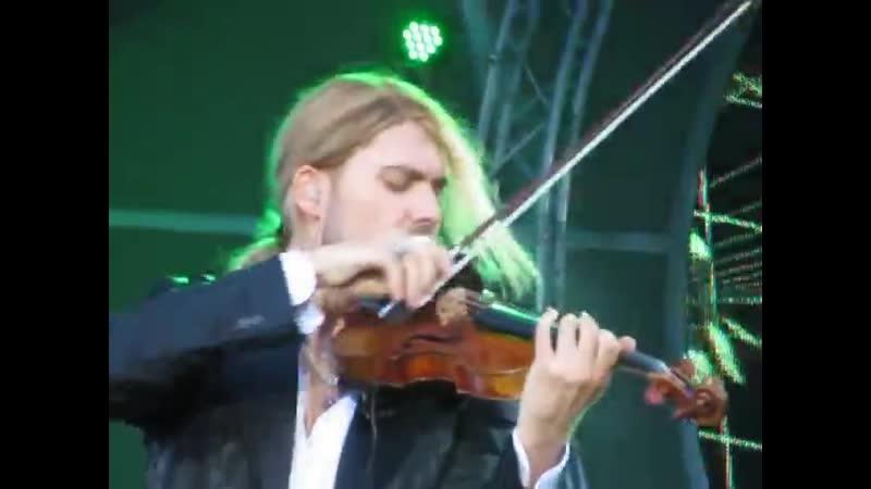 David Garrett Open Air Konzert Berlin Wuhlheide Mission impossible