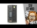 DEJAVU DJV D7 180W Touch Screen TC Box MOD Назад в будущее