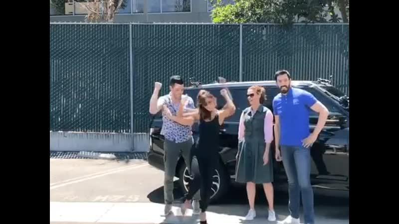 James Corden: Carpool Karaoke. Deschanel Sisters. 2019