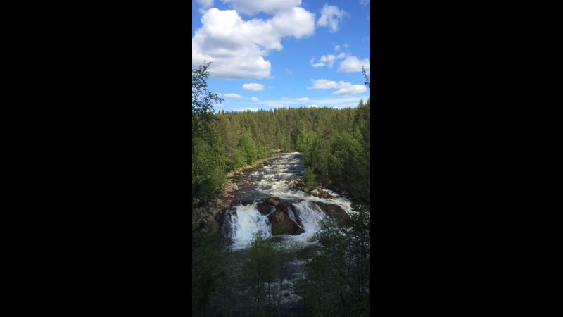 Водопад Колвицкий Падун