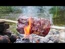 DOĞADA LOKUM BONFİLE YAPTIM Cooking Roast Beef Tenderloin in the Nature