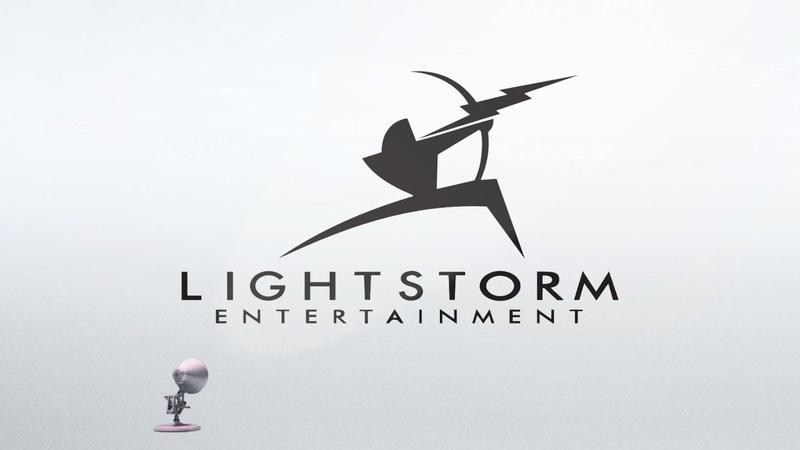 1689-Lightstorm Entertainment Logo Spoof Pixar Lamps Luxo Jr