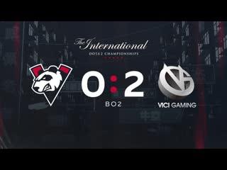Vp 0 - 2 vici gaming, bo2. групповая стадия the international 2019