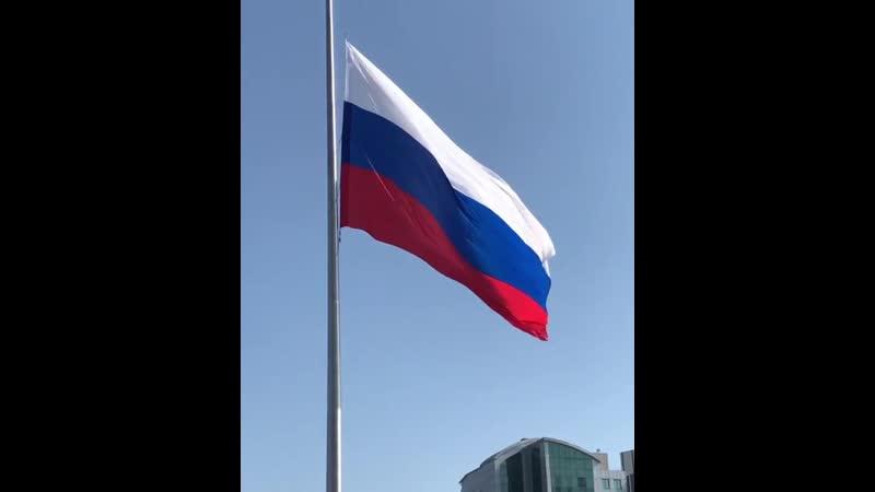 Дорогие рязанцы! Поздравляем вас с Днём Государственного флага Российской Федерации!  Государственный флаг - главный символ Оте