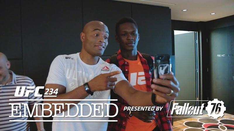 UFC234: Видеоблог – Эпизод 5