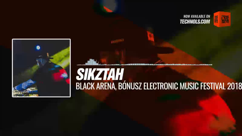@sikztah Black Arena Bónusz Electronic Music Festival 2018 Hungexpo Budapest Hungary Periscope Techno music
