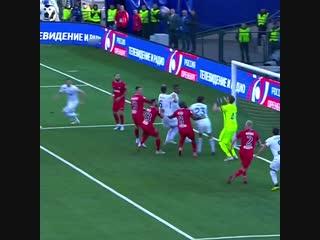 Лучшие моменты рпл. сейв защитника валерия кичина в матче с «оренбургом»