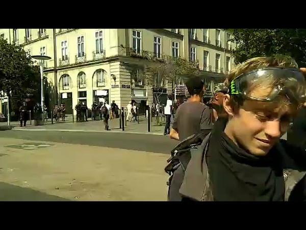 Nantes, manifestation contre limpunité des forces de lordre Vécu Gabin