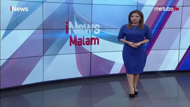 Lahar Dingin Gunung Sinabung Menerjang Desa di Kabupaten Karo - iNews Malam 11-07.mp4
