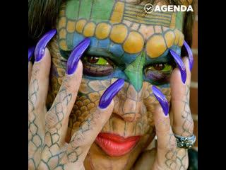 Невероятная история женщины-дракона