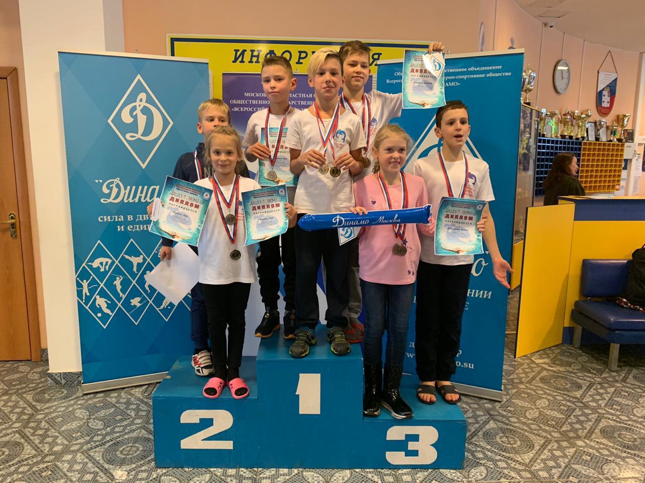 Спортсмены из Некрасовки успешно выступили на соревнованиях по плаванию