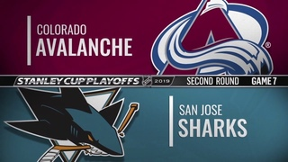 Colorado Avalanche vs San Jose Sharks | May 08, 2019 NHL | Game 7 | Stanley Cup 2019 | Обзор матча
