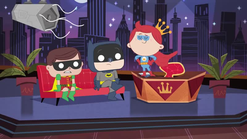 Шоу Фредди Фанко! Эпизод 1 Бэтмен и Робин. (На русском языке) The Freddy Funko Show Episode 1 Batman and Robin!