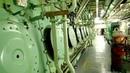 Hyundai Sulzer 12RTA 96C running at 72rpm