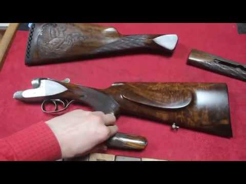 Изумительный приклад и цевье с эффектом WOW для ружья ЗАУЭР 8 SAUER 8 из Комлевого ореха