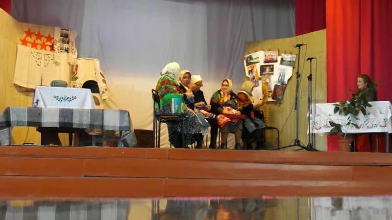 Спектакль по пьесе Н.Семеновой Семь мисок, семь ложек худ. самодеятельности Малоустьикинского СДК. 1 эпизод.