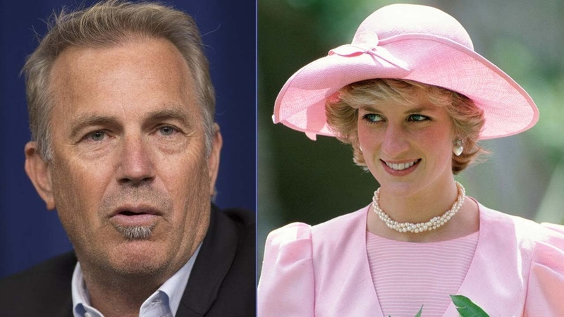 Kevin Costner Made An Emotional C-onfession About Princess Diana's Dea-th