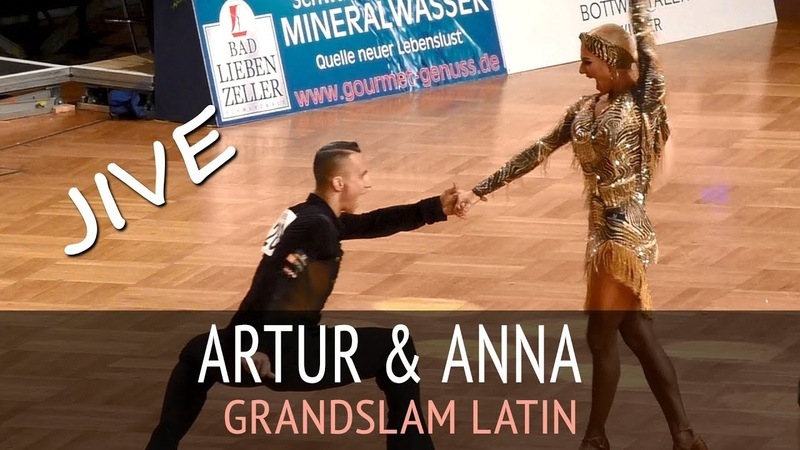 Artur Balandin Anna Salita Джайв GOC2018 GrandSlam LATIN Четверьфинал