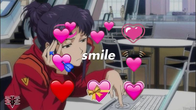 You So Precious When You Smile Misato Katsuragi