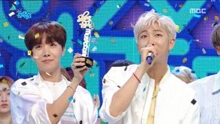 [HOT] 4월 3주차 1위 '방탄소년단 - 작은 것들을 위한 시(BTS  - Boy With Luv)' Show Music core 20190420