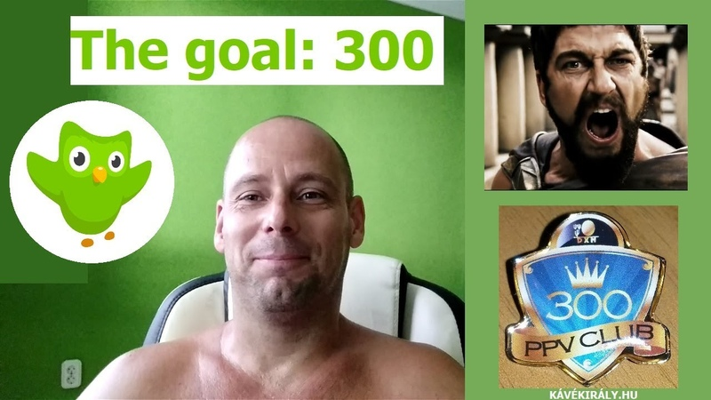Duolingo 300 daily XP goal (mixed in French, English, German, Spanish, Italian and Russian courses)