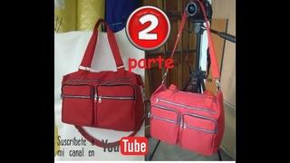 bolso de viaje o pañalera PARTE 2 TRAVEL BAG OR DIAPER BAG 2